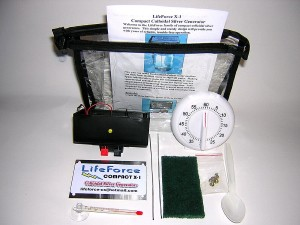 LifeForce X1 Colloidal Silver Genrator Package